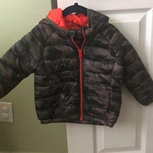 Primark boys Camouflage jacket
